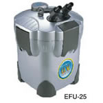EFU 25 4-Stage Canister Filter and UV Sterilizer